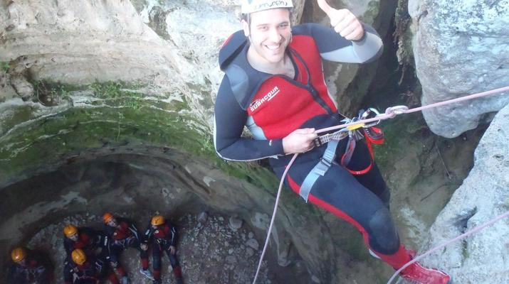 Canyoning-Gorgo de la Escalera-Canyoning at Gorgo de la Escalera near Valencia-3