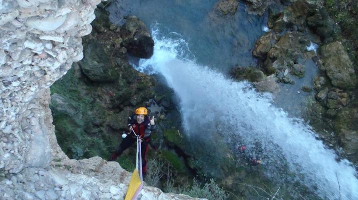 Canyoning-Gorgo de la Escalera-Canyoning at Gorgo de la Escalera near Valencia-1
