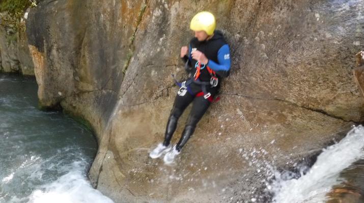 Canyoning-Laruns-Canyoning dans les Gorges du Bitet Supérieur à Laruns-6