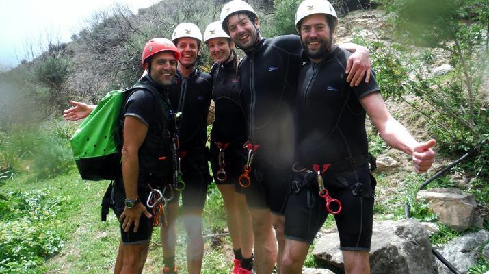 Canyoning-Heraklion-Canyoning in der Portela-Schlucht, Viannos im Süden Kretas-1