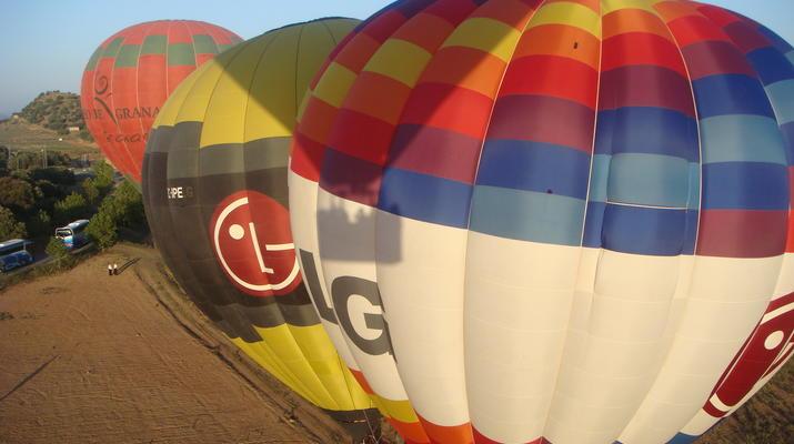 Hot Air Ballooning-Segovia-Hot air balloon flights in Segovia, near Madrid-5