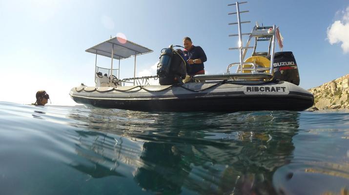 Plongée sous-marine-Malte-Cours PADI Discover Scuba Diving à Mellieha Bay, Malte-4