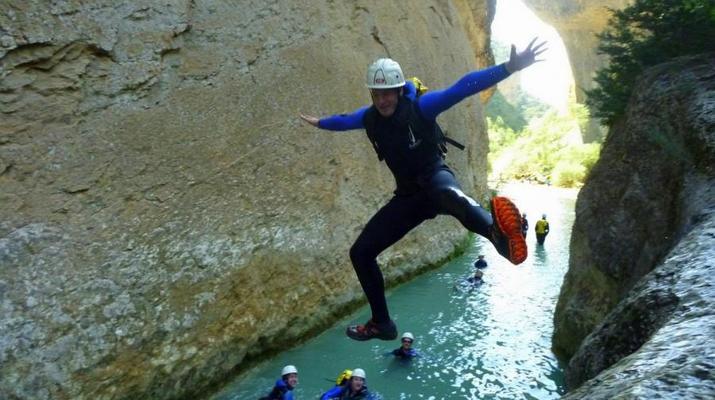 Canyoning-Sierra de Guara-Randonnée Canyoning Canyon Peonera à la Sierra de Guara, Huesca-3