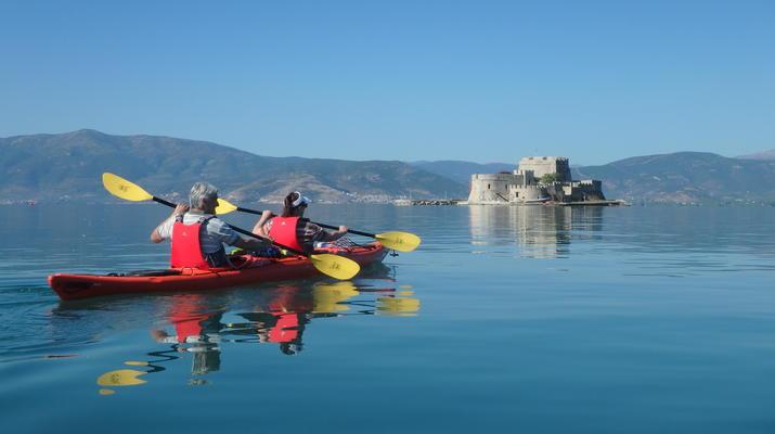 Sea Kayaking-Nafplio-Sea kayak excursions in Nafplio-1