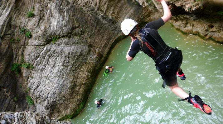 Canyoning-Heraklion-Canyoning in der Portela-Schlucht, Viannos im Süden Kretas-6