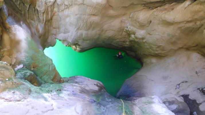 Canyoning-Heraklion-Canyoning in der Portela-Schlucht, Viannos im Süden Kretas-4