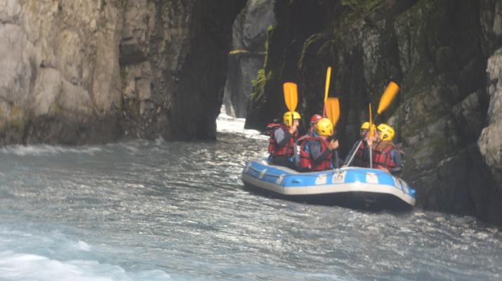 Rafting-Samoëns, Le Grand Massif-Rafting descent of Giffre river in Samoens-6