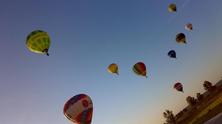 Hot Air Ballooning-Segovia-Hot air balloon flights in Segovia, near Madrid-1