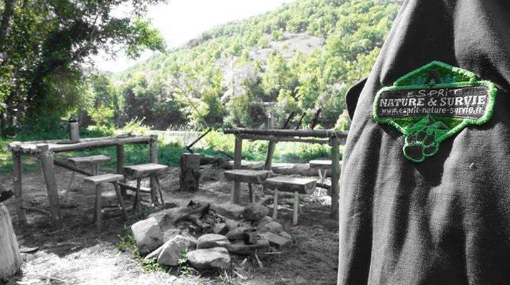 Curso de Superviviencia-Viaduc de Millau-Curso de Bushcraft en Grand Causses cerca de Millau-9