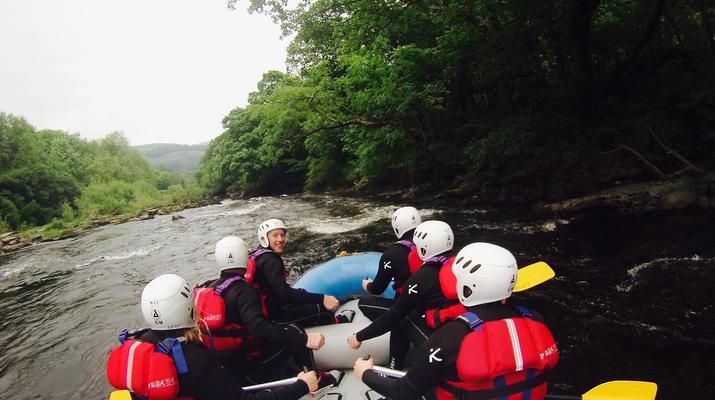 Rafting-Denbighshire-Rafting down the River Dee in Llangollen-6