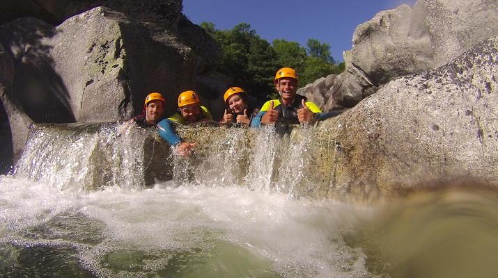 Canyoning-Gorges du Tarn-Canyon du Pas de Soucy dans les Gorges du Tarn-5