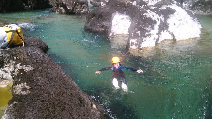 Canyoning-Gorges du Tarn-Canyon du Pas de Soucy dans les Gorges du Tarn-3