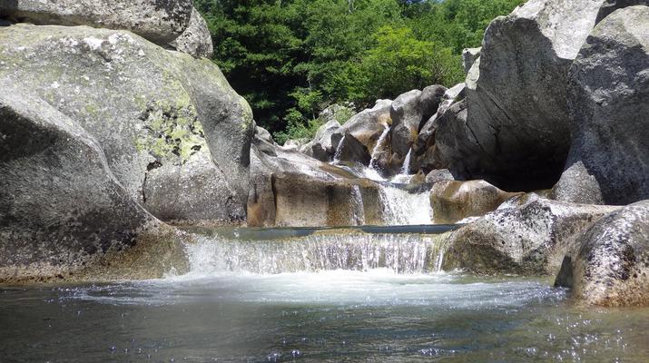 Canyoning-Parc national des Cévennes-Canyoning dans les gorges de la Dourbie, Cévennes-6