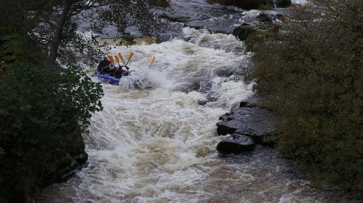 Rafting-Denbighshire-Rafting down the River Dee in Llangollen-4
