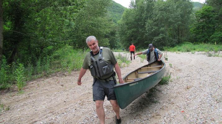 Curso de Superviviencia-Viaduc de Millau-Curso de Bushcraft en Grand Causses cerca de Millau-2