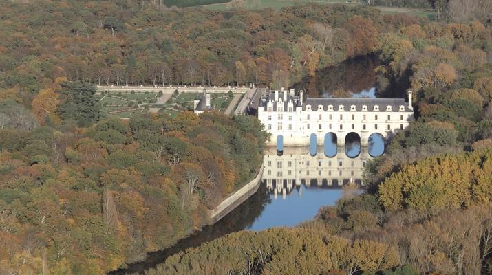 U.L.M-Tours-Baptême ULM à Chenonceau au-dessus des Châteaux de la Loire-4