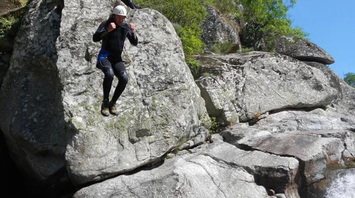 Canyoning-Parc national des Cévennes-Canyoning dans les gorges de la Dourbie, Cévennes-10