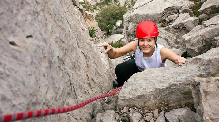 Rock climbing-Montserrat-Private rock climbing initiation in Montserrat near Barcelona-5