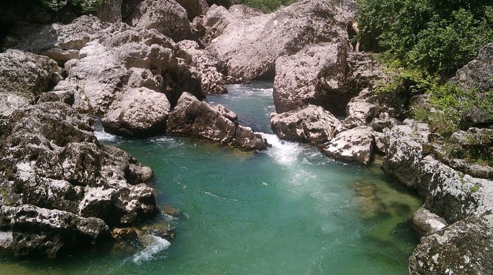 Canyoning-Gorges du Tarn-Canyon du Pas de Soucy dans les Gorges du Tarn-2