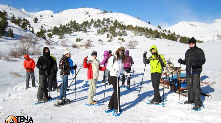 Raquette à Neige-Huesca-Randonnée Raquettes dans la Vallée de Tena, Huesca-2
