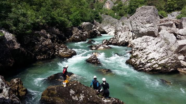 Canyoning-Gorges du Tarn-Canyon du Pas de Soucy dans les Gorges du Tarn-1