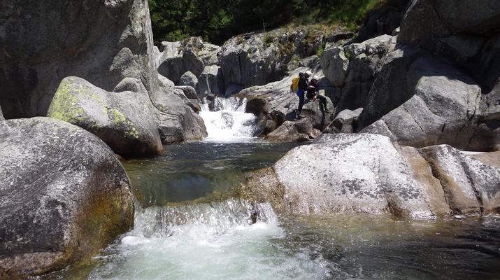 Canyoning-Parc national des Cévennes-Canyoning dans les gorges de la Dourbie, Cévennes-4
