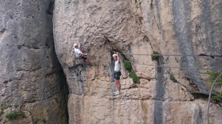 Via Ferrata-Gorges du Tarn-Via Ferrata de Liaucous, Gorges du Tarn-3