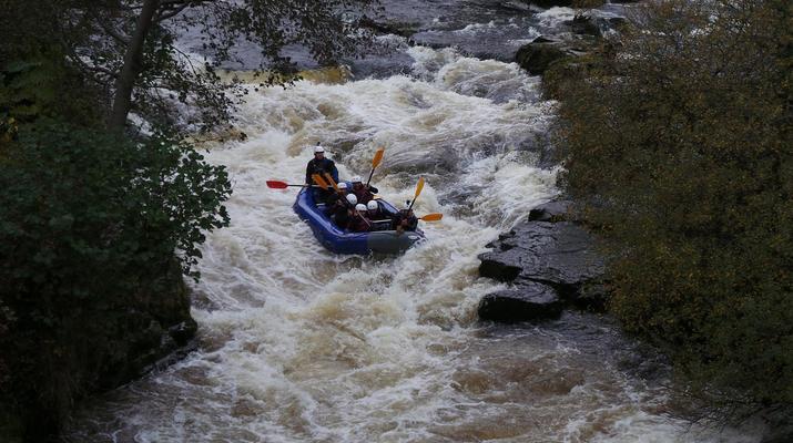 Rafting-Denbighshire-Rafting down the River Dee in Llangollen-5