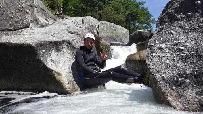 Canyoning-Parc national des Cévennes-Canyoning dans les gorges de la Dourbie, Cévennes-5