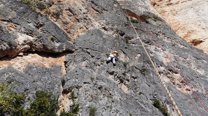Escalade-Gorges du Tarn-Escalade sur les falaises des Gorges du Tarn-5