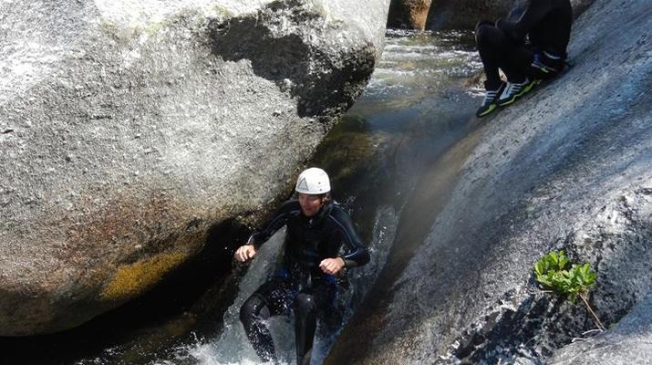 Canyoning-Parc national des Cévennes-Canyoning dans les gorges de la Dourbie, Cévennes-12