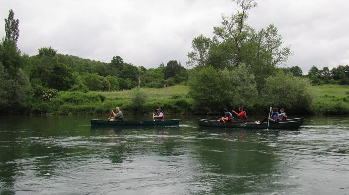 Curso de Superviviencia-Viaduc de Millau-Curso de Bushcraft en Grand Causses cerca de Millau-1