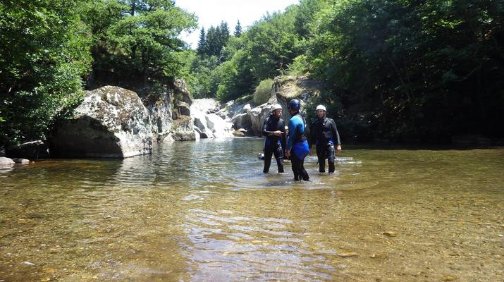 Canyoning-Parc national des Cévennes-Canyoning dans les gorges de la Dourbie, Cévennes-13