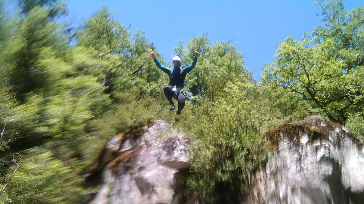 Canyoning-Gorges du Tarn-Canyon du Pas de Soucy dans les Gorges du Tarn-4