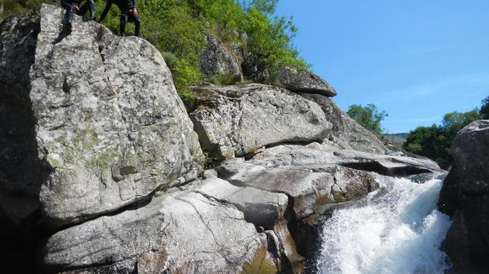 Canyoning-Parc national des Cévennes-Canyoning dans les gorges de la Dourbie, Cévennes-9