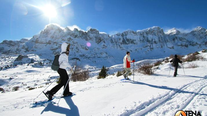 Raquette à Neige-Huesca-Randonnée Raquettes dans la Vallée de Tena, Huesca-1