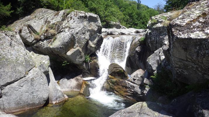 Canyoning-Parc national des Cévennes-Canyoning dans les gorges de la Dourbie, Cévennes-7