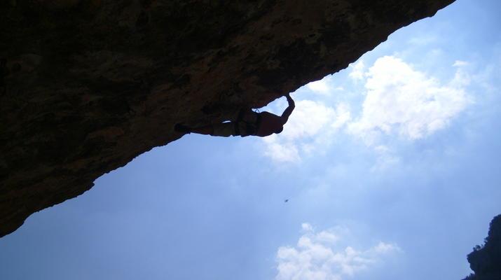 Escalade-Gorges du Tarn-Escalade sur les falaises des Gorges du Tarn-1