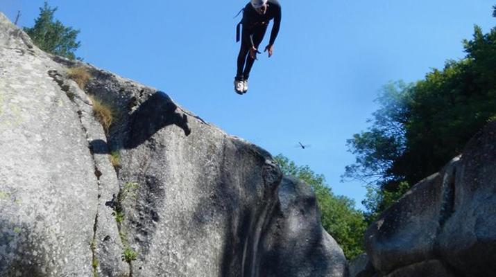 Canyoning-Parc national des Cévennes-Canyoning dans les gorges de la Dourbie, Cévennes-11