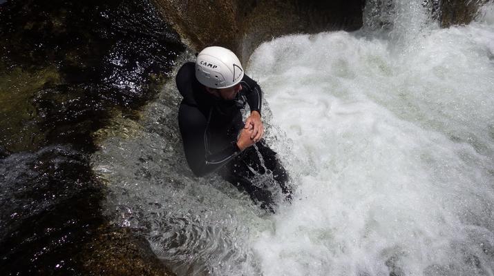 Canyoning-Parc national des Cévennes-Canyoning dans les gorges de la Dourbie, Cévennes-14