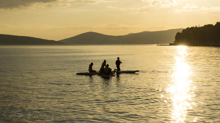 Stand up Paddle-Split-SUP excursions from Stobrec Beach inSplit-6