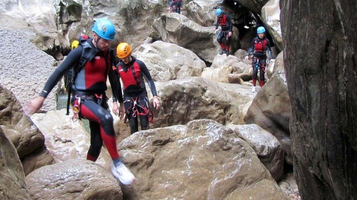 Canyoning-Marbella-Buitreras canyoning in El Colmenar, near Marbella-2