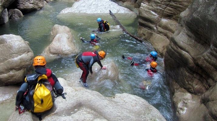 Canyoning-Marbella-Buitreras canyoning in El Colmenar, near Marbella-6