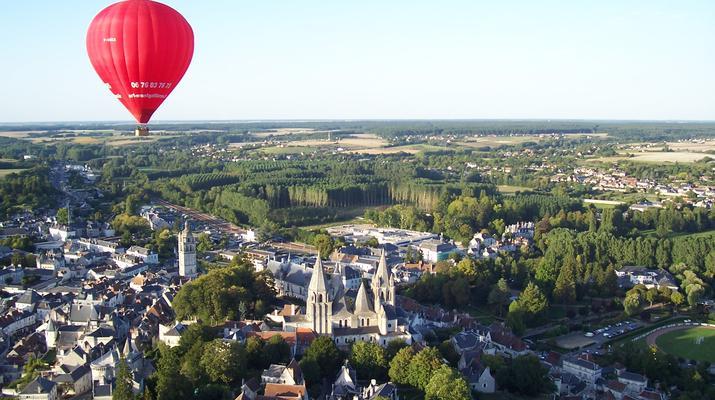 Hot Air Ballooning-Tours-Hot air balloon flight in Amboise, Touraine-2