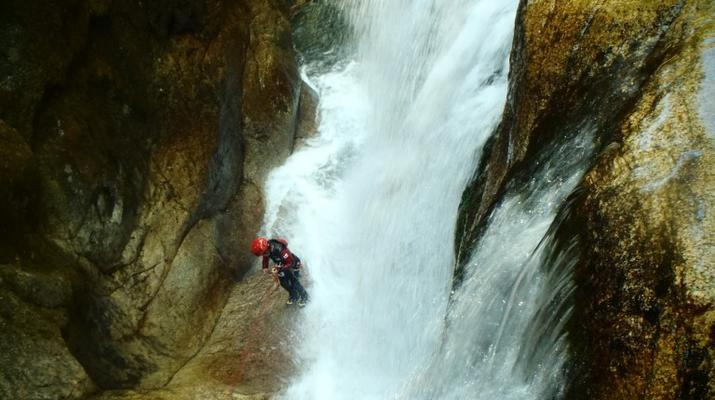 Canyoning-Laruns-Canyon du Canceigt dans la Vallée d'Ossau, Laruns-5