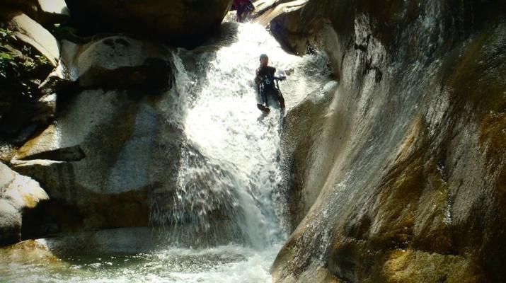 Canyoning-Laruns-Canyon du Canceigt dans la Vallée d'Ossau, Laruns-1