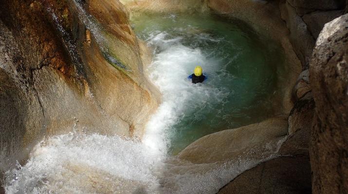 Canyoning-Laruns-Canyon du Canceigt dans la Vallée d'Ossau, Laruns-3