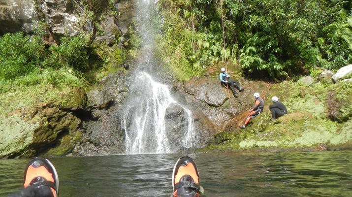 Canyoning-Sainte-Suzanne River-Sainte Suzanne canyon in Reunion Island-4