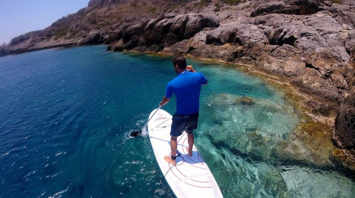 Stand up Paddle-Chania-SUP Tour in Chania, Kreta-3