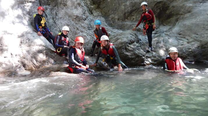 Canyoning-Lake Garda-Palvico Canyon near Lake Garda-5